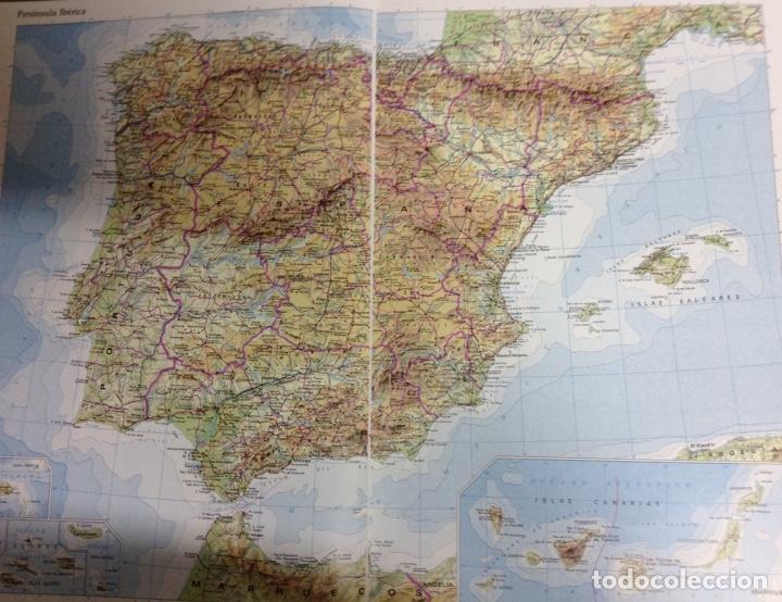 Enciclopedias: Atlas de España. NUEVO - Foto 3 - 168399413