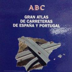 Enciclopedias: DOS ATLAS DE CARRETERAS: DE ESPAÑA Y PORTUGAL; Y DE EUROPA. NUEVOS. Lote 168400110