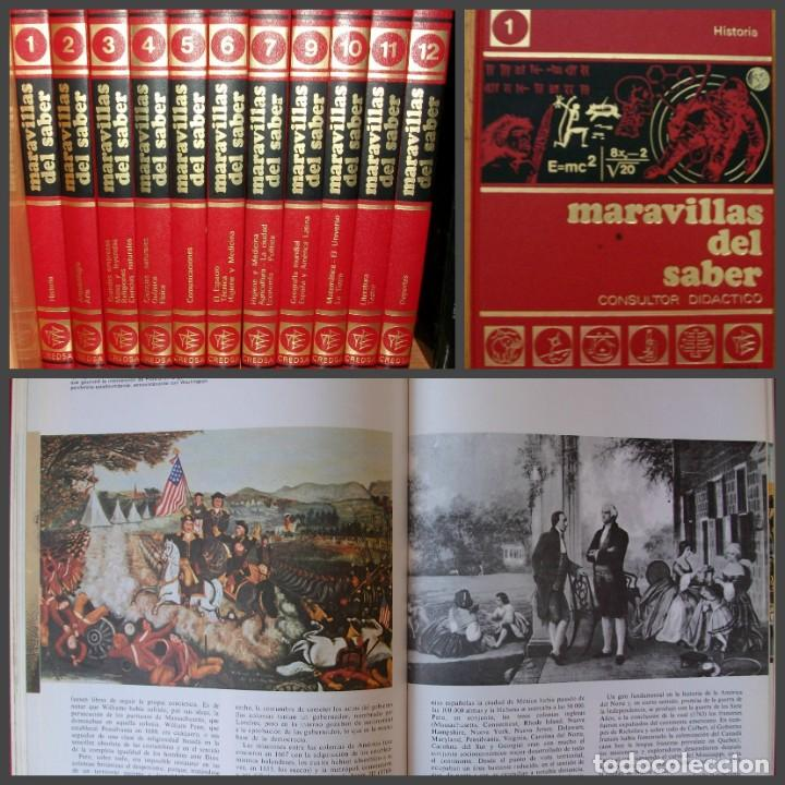 ENCICLOPEDIA MARAVILLAS DEL SABER. 12 TOMOS. CONSULTOR DIDACTICO. (Libros Nuevos - Diccionarios y Enciclopedias - Enciclopedias)