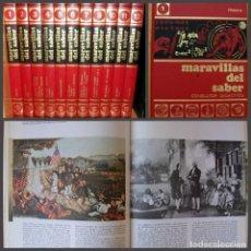 Enciclopedias: ENCICLOPEDIA MARAVILLAS DEL SABER. 12 TOMOS. CONSULTOR DIDACTICO.. Lote 168509752
