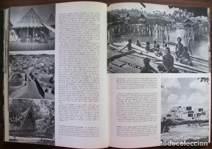 Enciclopedias: LAS RAZAS HUMANAS. 2 TOMOS. AMERICA-AFRICA-EUROPA. 1971 - Foto 3 - 171189133