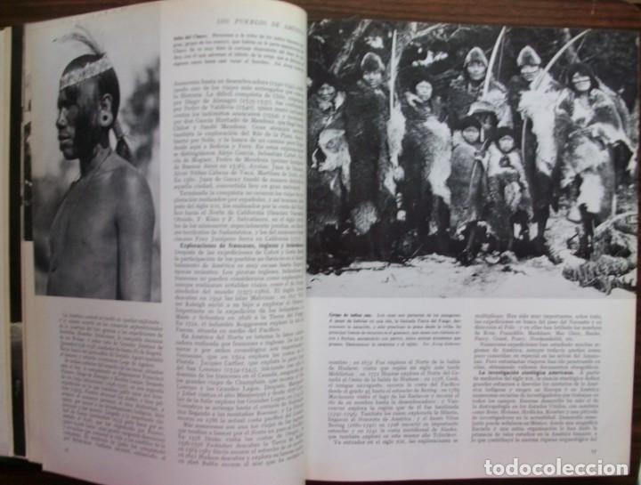 Enciclopedias: LAS RAZAS HUMANAS. 2 TOMOS. AMERICA-AFRICA-EUROPA. 1971 - Foto 6 - 171189133