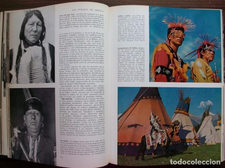Enciclopedias: LAS RAZAS HUMANAS. 2 TOMOS. AMERICA-AFRICA-EUROPA. 1971 - Foto 7 - 171189133