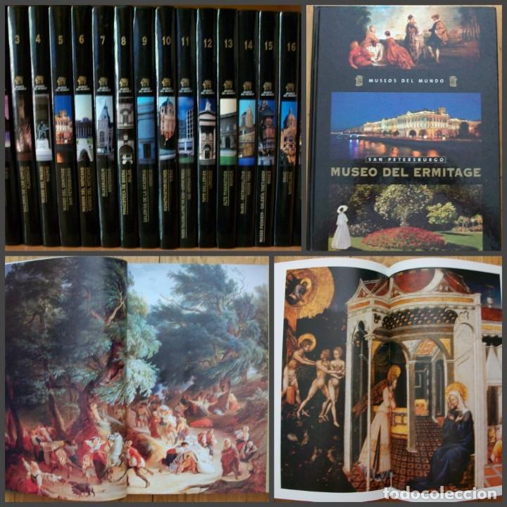 MUSEOS DEL MUNDO: ALBI - AMSTERDAM - PARIS. COLECCION 18 TOMOS (Libros Nuevos - Diccionarios y Enciclopedias - Enciclopedias)
