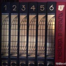 Enciclopedias: GEOGRAFÍA UNIVERSAL 6 VOLS. BIBLIOTECA CULTURAL CARROGGIO. Lote 171327595