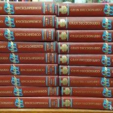 Enciclopedias: GRAN DICCIONARIO ENCICLOPÉDICO ARTEL. 18 TOMOS. A-ENC-428-SF. Lote 171449150