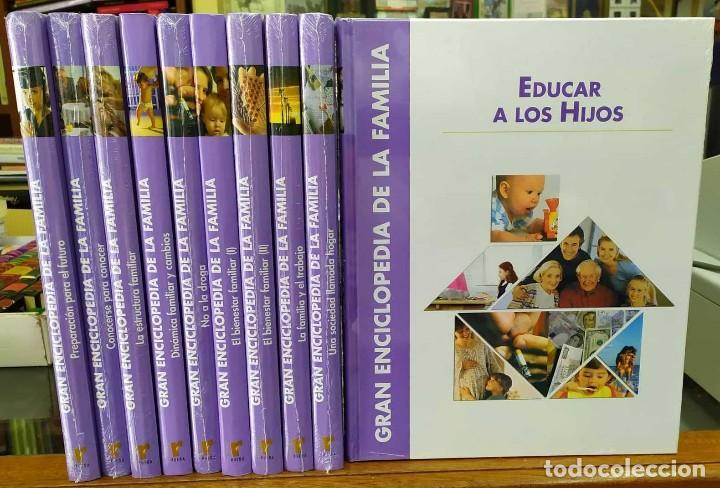 GRAN ENCICLOPEDIA DE LA FAMILIA. DIEZ TOMOS + 1 CD. A-ENC-432-SF (Libros Nuevos - Diccionarios y Enciclopedias - Enciclopedias)