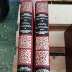Enciclopedias: GEOGRAFÍA DE ESPAÑA ILUSTRADA VOL 1 Y 2 SOPENA. Lote 171743982