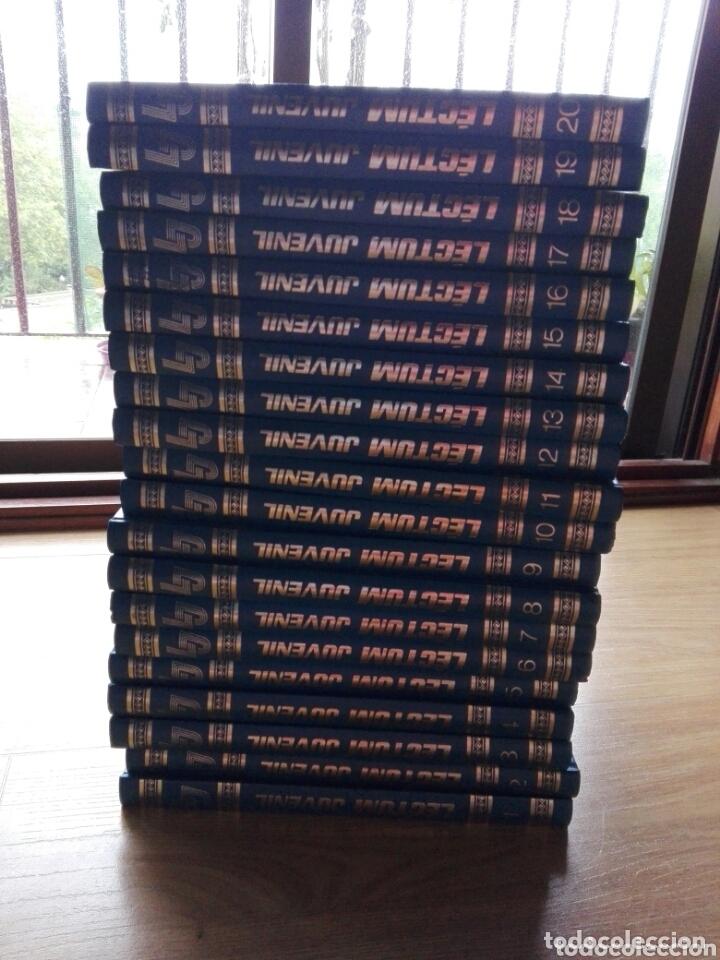 LECTUN JUVENIL COMPLETA 20TOMOS AÑOS 80 (Libros Nuevos - Diccionarios y Enciclopedias - Enciclopedias)