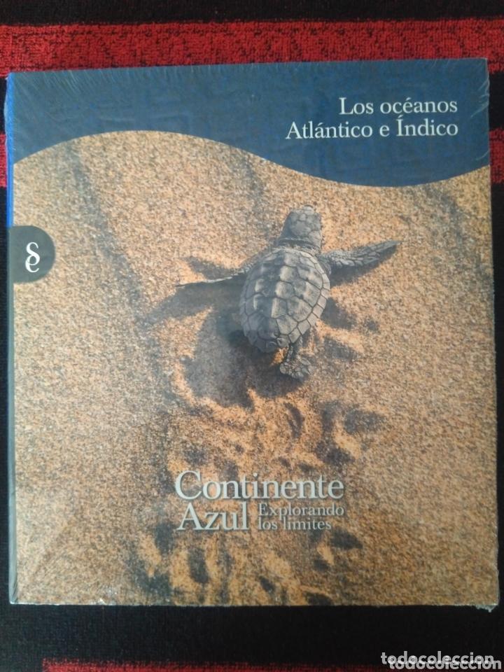 Enciclopedias: Colección completa Continente Azul. Nueva. - Foto 2 - 172888247