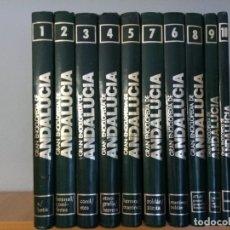 Enciclopedias: GRAN ENCICLOPEDIA DE ANDALUCIA / 10 TOMOS. Lote 173783590
