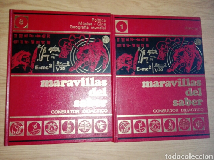 Enciclopedias: MARAVILLAS DEL SABER AÑOS 60/70 - Foto 2 - 175413444