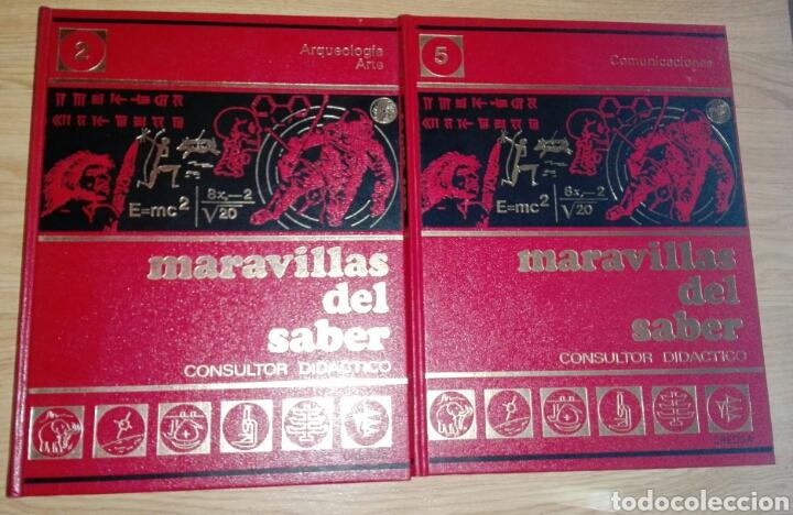 Enciclopedias: MARAVILLAS DEL SABER AÑOS 60/70 - Foto 7 - 175413444