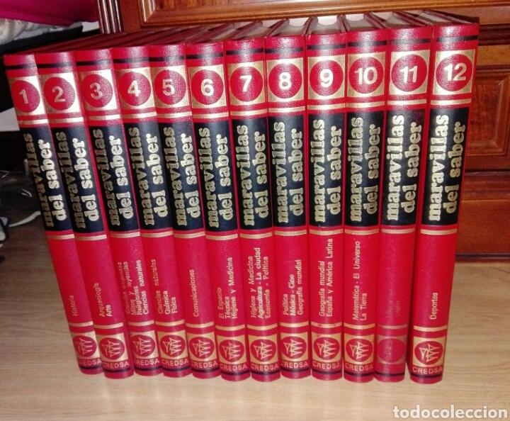 MARAVILLAS DEL SABER AÑOS 60/70 (Libros Nuevos - Diccionarios y Enciclopedias - Enciclopedias)
