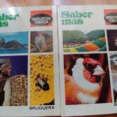Enciclopedias: SABER MAS-TOMOS V Y IV-BRUGUERA-TAPA DURA-AÑO 1979. Lote 175511985