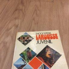 Enciclopedias: ENCICLOPEDIAS LAROUSSE JUVENIL - DOS LIBROS. Lote 176171260