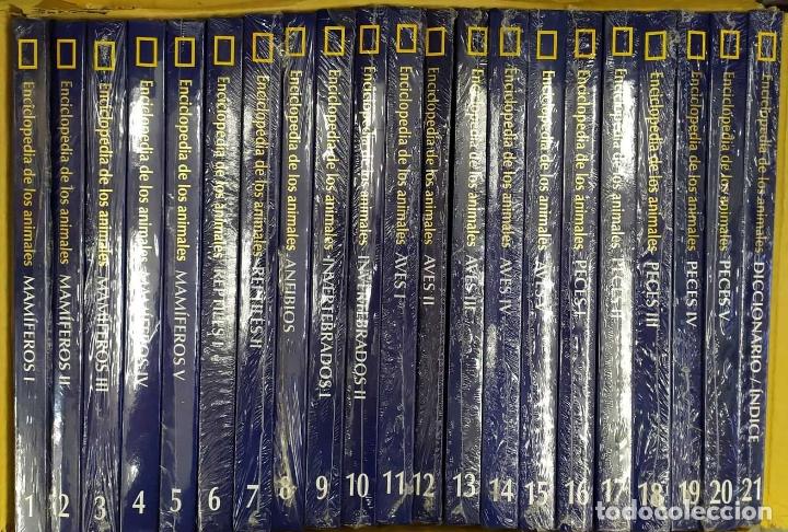 ENCICLOPEDIA DE LOS ANIMALES. NATIONAL GEOGRAPHIC. 21 TOMOS. A-ENC-442-SF (Libros Nuevos - Diccionarios y Enciclopedias - Enciclopedias)
