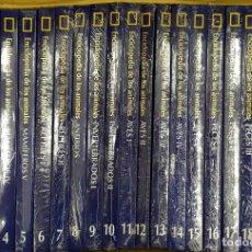 Livros: ENCICLOPEDIA DE LOS ANIMALES. NATIONAL GEOGRAPHIC. 21 TOMOS. A-ENC-442-SF. Lote 178232088