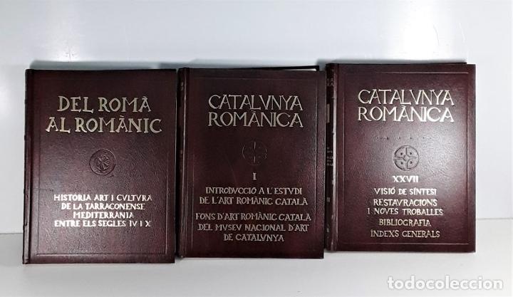Enciclopedias: CATALUNYA ROMÀNICA. 28 VOLUMENES. VARIOS AUTORES. ENCICLOPÈDIA CATALANA. 1994/99. - Foto 2 - 178926862