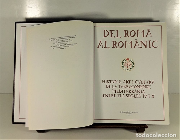 Enciclopedias: CATALUNYA ROMÀNICA. 28 VOLUMENES. VARIOS AUTORES. ENCICLOPÈDIA CATALANA. 1994/99. - Foto 3 - 199408192