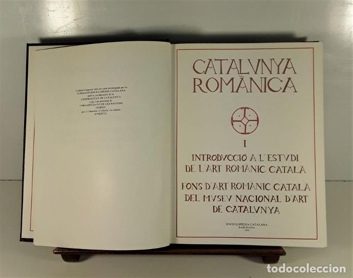 Enciclopedias: CATALUNYA ROMÀNICA. 28 VOLUMENES. VARIOS AUTORES. ENCICLOPÈDIA CATALANA. 1994/99. - Foto 5 - 199408192