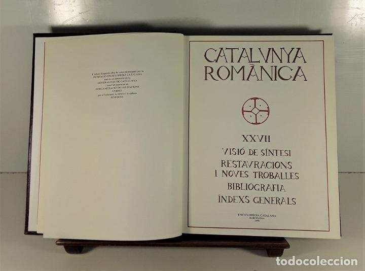 Enciclopedias: CATALUNYA ROMÀNICA. 28 VOLUMENES. VARIOS AUTORES. ENCICLOPÈDIA CATALANA. 1994/99. - Foto 7 - 178926862