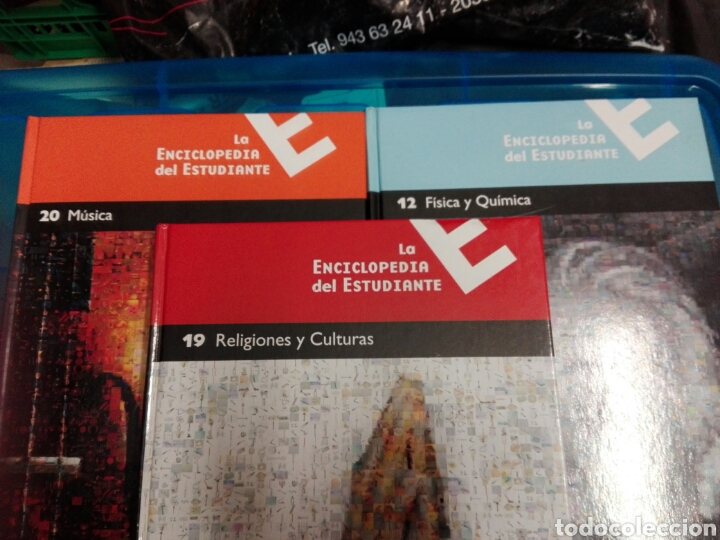 Enciclopedias: ENCICLOPEDIA COMPLETA DEL ESTUDIANTE - Foto 3 - 179026055