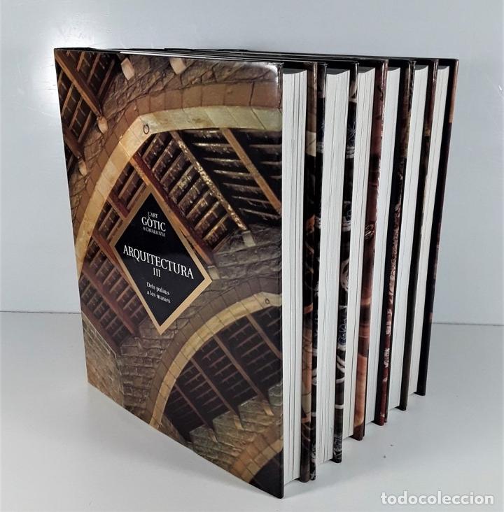 Enciclopedias: LART GOTIC A CATALUNYA. 6 TOMOS. ENCICLOPÈDIA CATALANA. BARCELONA. 2002/2006. - Foto 2 - 179249078