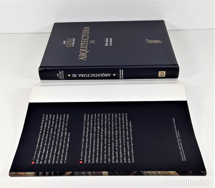 Enciclopedias: LART GOTIC A CATALUNYA. 6 TOMOS. ENCICLOPÈDIA CATALANA. BARCELONA. 2002/2006. - Foto 3 - 179249078