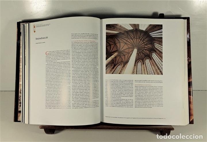 Enciclopedias: LART GOTIC A CATALUNYA. 6 TOMOS. ENCICLOPÈDIA CATALANA. BARCELONA. 2002/2006. - Foto 6 - 179249078