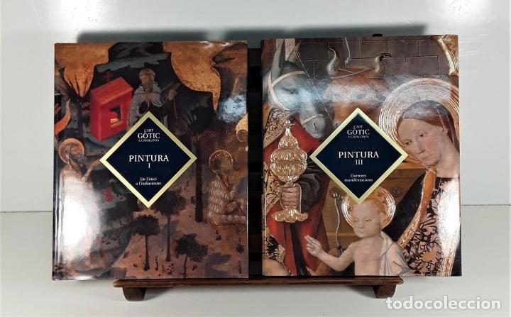 Enciclopedias: LART GOTIC A CATALUNYA. 6 TOMOS. ENCICLOPÈDIA CATALANA. BARCELONA. 2002/2006. - Foto 9 - 179249078