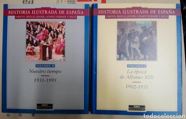 Enciclopedias: HISTORIA ILUSTRADA DE ESPAÑA - Foto 2 - 179338141