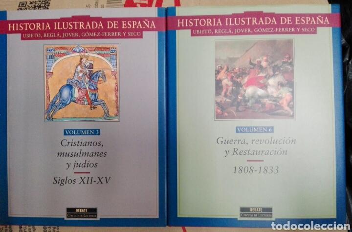 Enciclopedias: HISTORIA ILUSTRADA DE ESPAÑA - Foto 3 - 179338141