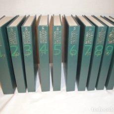 Enciclopedias: MODERNA ENCICLOPEDIA ILUSTRADA. AÑO 1969. EDICIONES NAUTA,S.A. COMPLETA. 9 TOMOS MÁS 1 TOMO APÉNDICE. Lote 180280792
