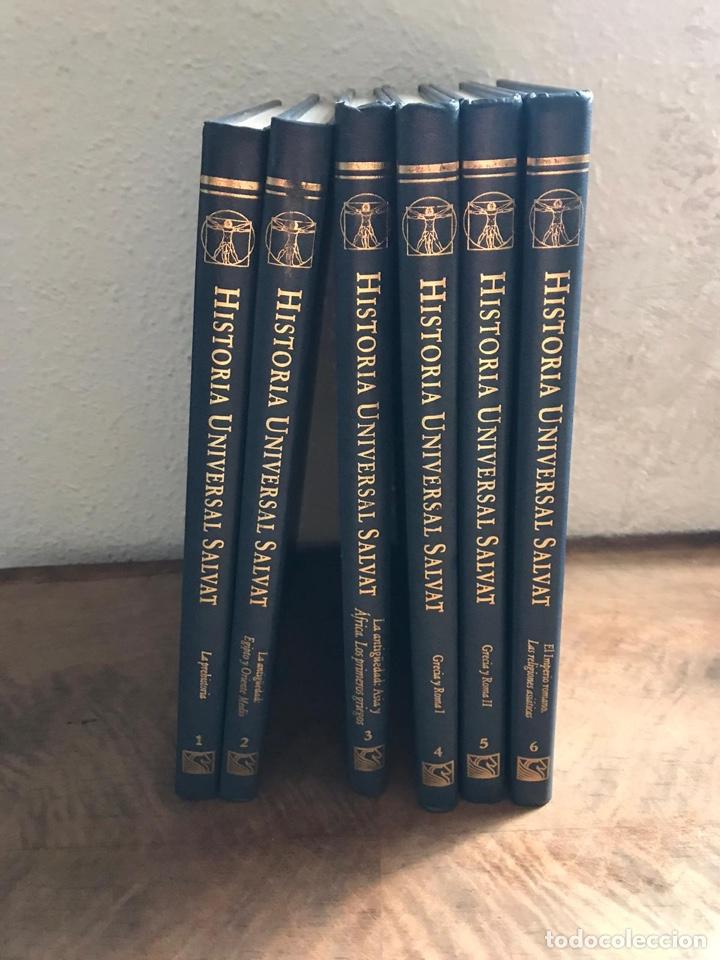 HISTORIA UNIVERSAL SALVAT (Libros Nuevos - Diccionarios y Enciclopedias - Enciclopedias)