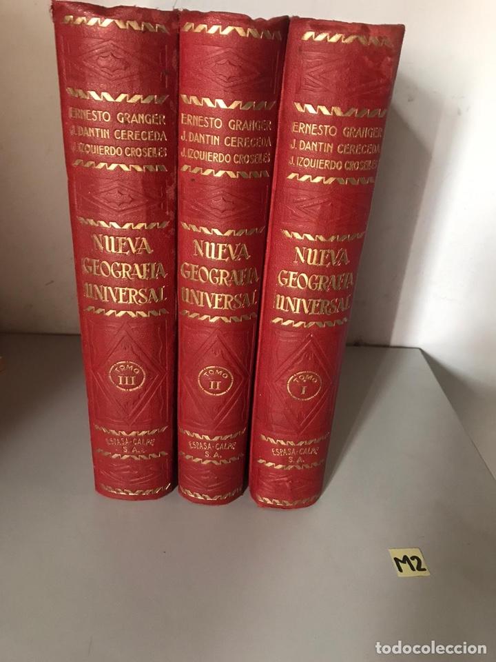 NUEVA GEOGRAFÍA UNIVERSAL ESPASA-CALPE (Libros Nuevos - Diccionarios y Enciclopedias - Enciclopedias)