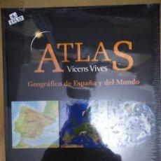 Enciclopedias: 27355 - ATLAS GEOGRAFICO DE ESPAÑA Y DEL MUNDO - ED VICENS VIVES - INSTITUTO CARTOGRAFO LATINO. Lote 180543585