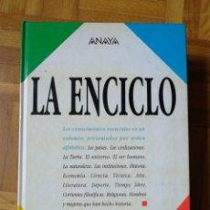 Livros: LA ENCICLO ANAYA. Lote 181458916