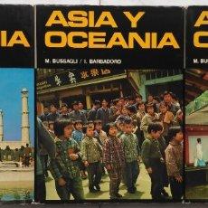Enciclopedias: ASIA Y OCEANIA. M. BUSSAGLI / I. BARBADORO 3 TOMOS. Lote 182212377