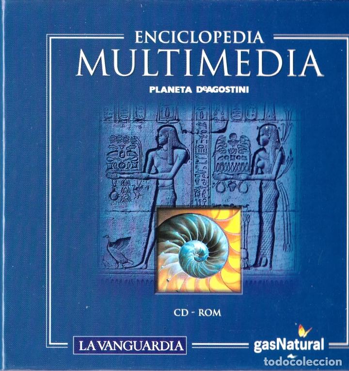ENCICLOPEDIA MULTIMEDIA PLANETA D'AGOSTINI - Y ATLAS MUNDIAL (17 CD-ROM) (Libros Nuevos - Diccionarios y Enciclopedias - Enciclopedias)