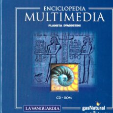 Enciclopedias: ENCICLOPEDIA MULTIMEDIA PLANETA D'AGOSTINI - Y ATLAS MUNDIAL (17 CD-ROM). Lote 182976692