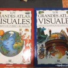 Enciclopedias: LOS GRANDES ATLAS VISUALES. Lote 182982043