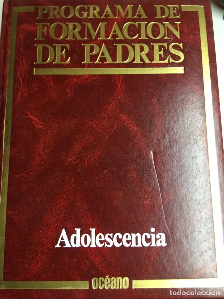 Enciclopedias: PROGRAMA DE FORMACION DE PADRES - ADOLESCENCIA - CUIDADOS DEL NIÑO - MATERNIDAD - 3 LIBROS - OCEANO - Foto 3 - 183071398