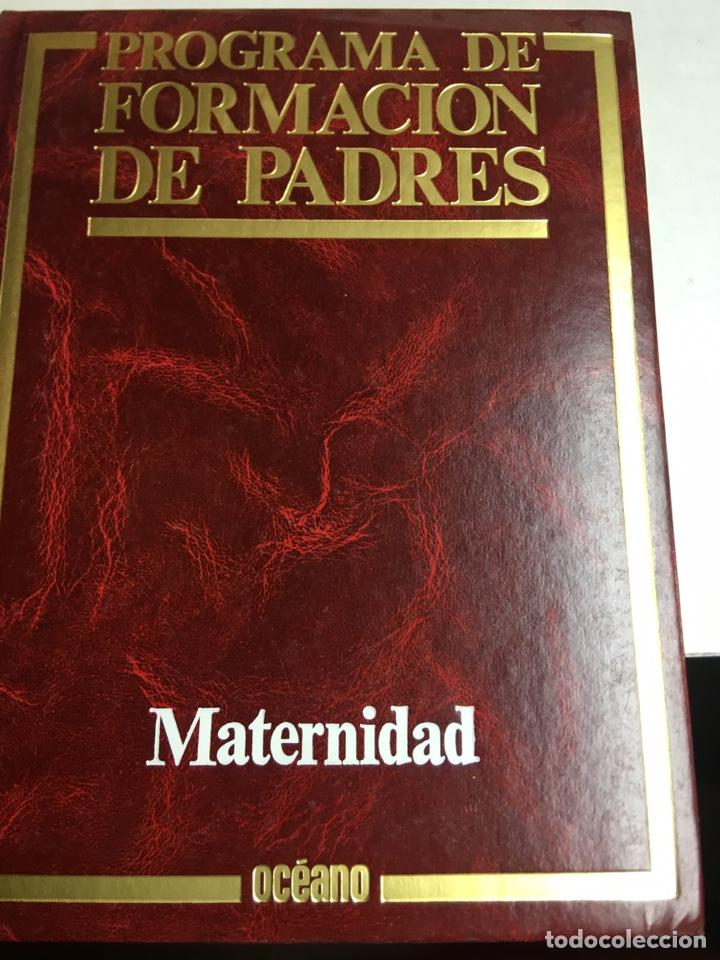 PROGRAMA DE FORMACION DE PADRES - ADOLESCENCIA - CUIDADOS DEL NIÑO - MATERNIDAD - 3 LIBROS - OCEANO (Libros Nuevos - Diccionarios y Enciclopedias - Enciclopedias)