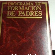 Enciclopedias: PROGRAMA DE FORMACION DE PADRES - ADOLESCENCIA - CUIDADOS DEL NIÑO - MATERNIDAD - 3 LIBROS - OCEANO. Lote 183071398