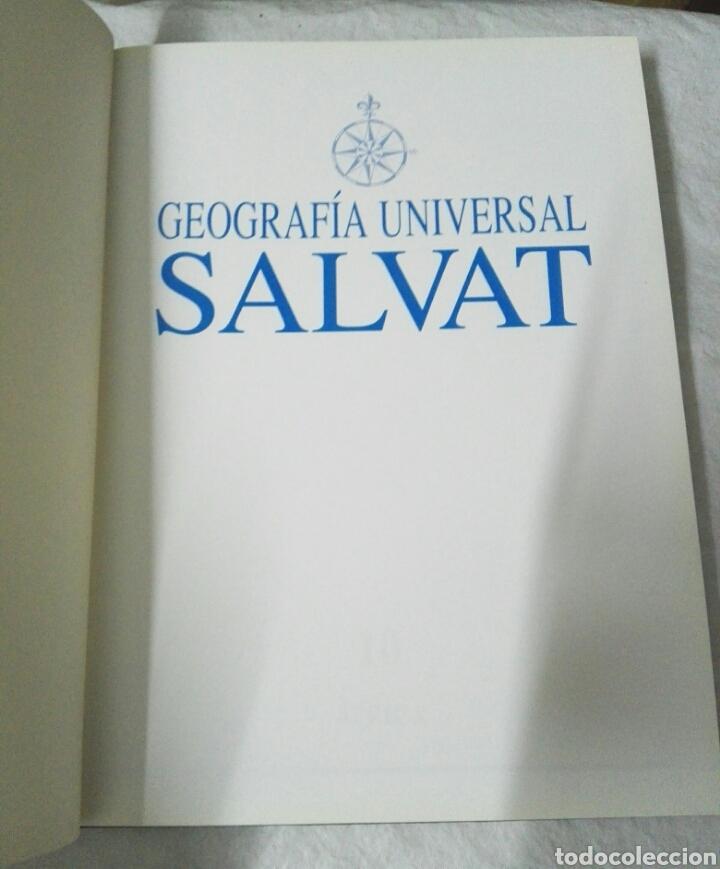 Enciclopedias: GEOGRAFIA UNIVERSAL SALVAT - Foto 6 - 183594930