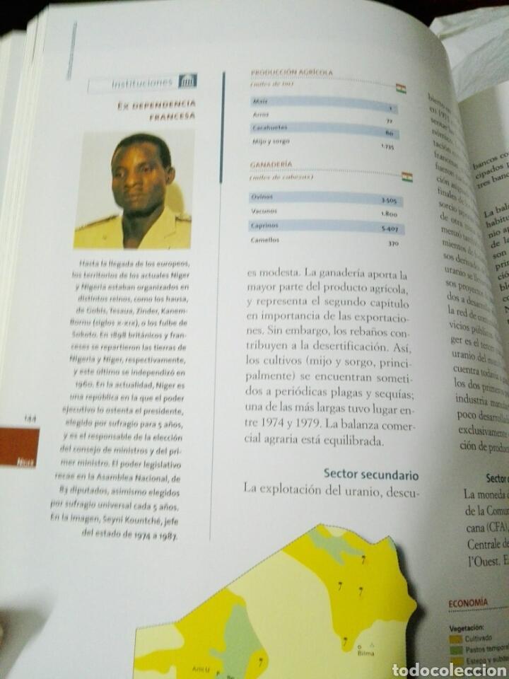 Enciclopedias: GEOGRAFIA UNIVERSAL SALVAT - Foto 9 - 183594930