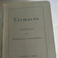 Enciclopedias: FARMACOS. Lote 184831648