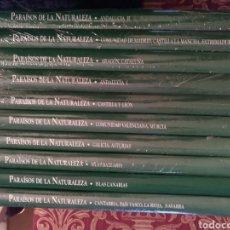 Enciclopedias: PARAISOS DE LA NATURALEZA A ESTRENAR. Lote 189389278