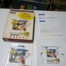 Enciclopedias: ENCICLOPEDIA MULTIMEDIA SALVAT PC-CDROM AÑO 1996. Lote 253408910